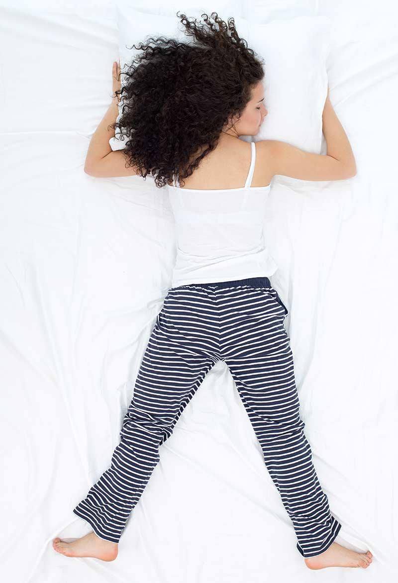 Freefall Sleep Position