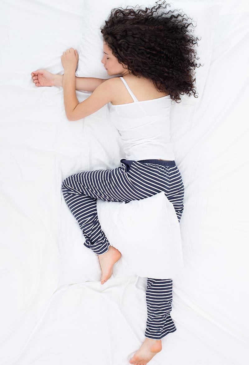 Yearner Sleep Position