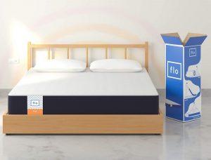 Flo Ergo Gel Memory Foam + Proprietary Responsive Foam Mattress, 72x48x6 Inches (Double)