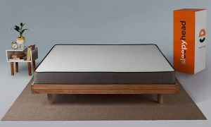 Sleepyhead Flip - Dual Sided High Density Foam Comfort Mattress with Firm and Soft Sides, 78x72x5 inches (King Size)